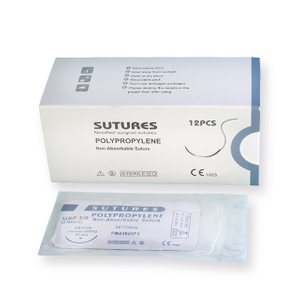 Surgical Non-absorbable Polypropylene Sutures with Needle