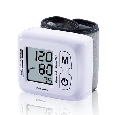 Automatic Wrist Type Blood Pressure Monitor at Home