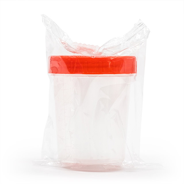 Disposable Urine Specimen Containers Cup with Screw Cap