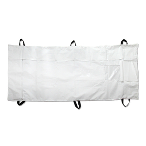 PEVA Medical Funeral Dead Waterproof Zipper Body Bag with Six Carrying Handles