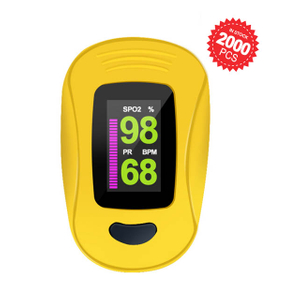 in Stock Portable Medical Digital LED Fingertip SpO2 Pulse Oximeter
